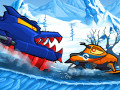 Giochi Car Eats Car: Winter Adventure